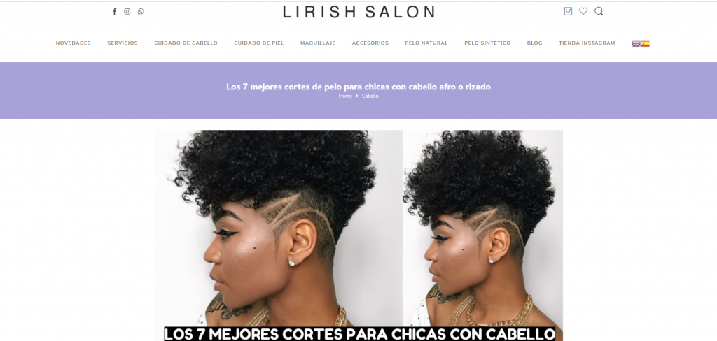 home page about Black hair styles