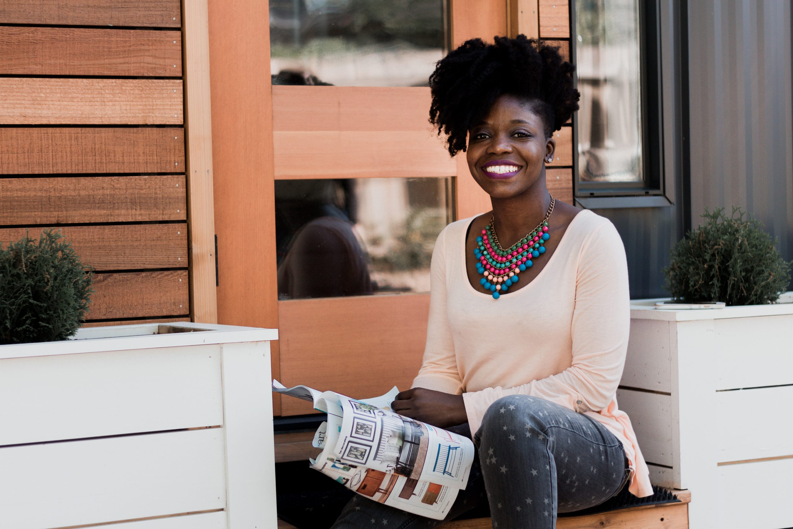 black-woman-smiling-with-book